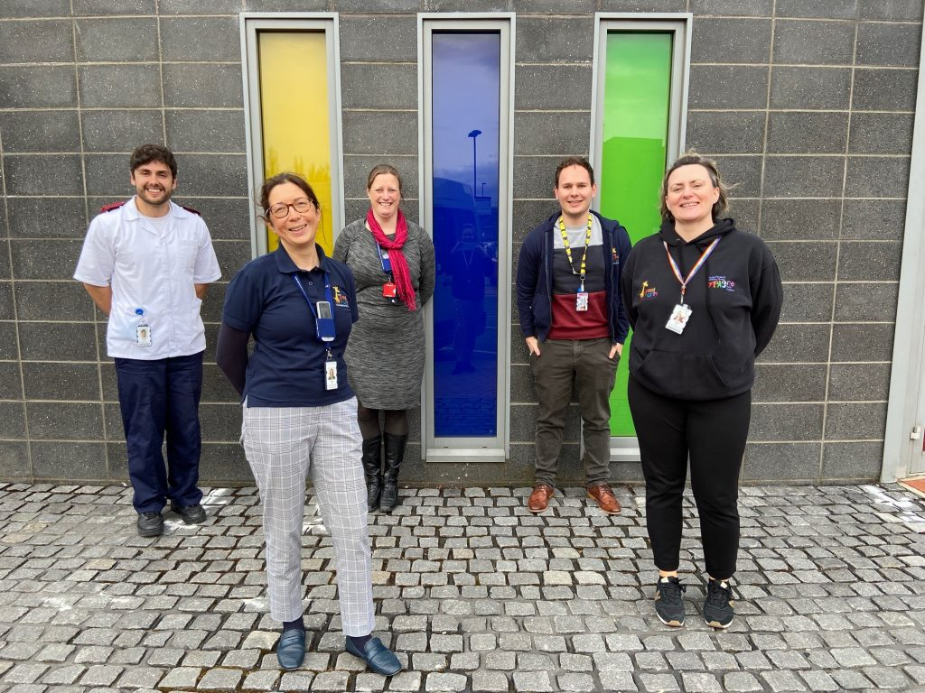The PERFORM team includes Dr Emma Lim, Professor Marieke Emonts, Dr Jo Ball, Dr Jethro Herberg and Young Person's Advisory Group North East (YPAG-ne).