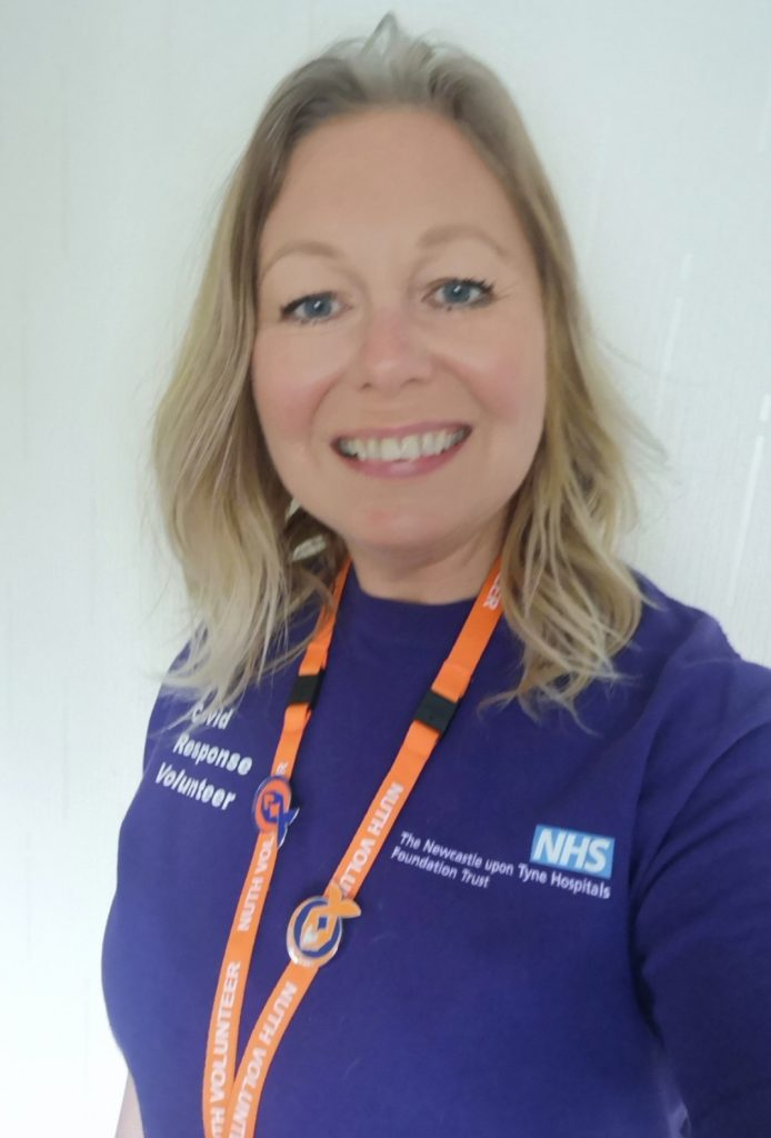 Jacqueline Jones - one of our fabulous Volunteers at Newcastle Hospitals