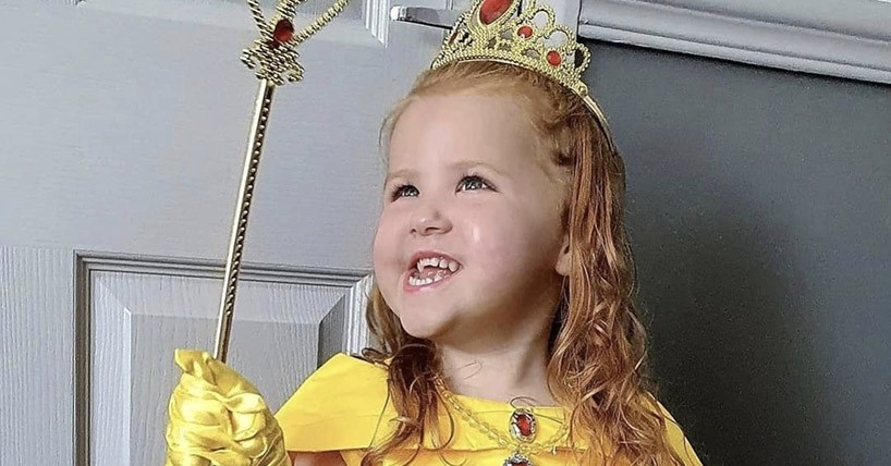 Five year old Addison Black has received a new diagnosis of Poretti-Boltshauser syndrome following genetic screening in Newcastle