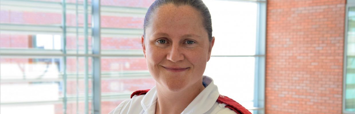 Kim Williams-Davies who works in the Infection Prevention and Control Team has been named a finalist in the Royal College of Nursing Award