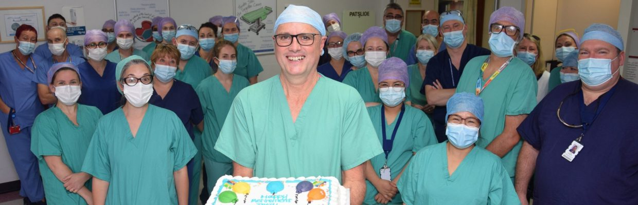 Terry Mason retires after 44 years at Freeman Hospital