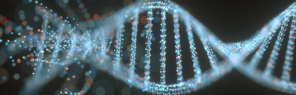 3D graphic of DNA